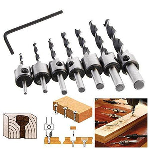 Smart Drill Bit™ Countersink Drill Bit Set 4Pcs/7Pcs<p><b>50% OFF TODAY ONLY</b>