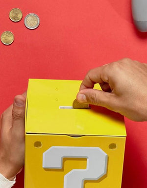 Super Mario Question Block Moneybox<p><b>50% OFF TODAY ONLY</b>