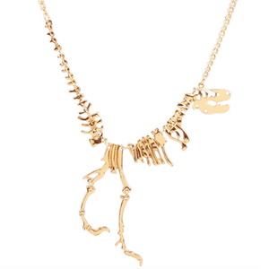 T-Rex Fossil Necklace
