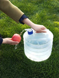 Collapsible Outdoor Camping Water Bottle<p><b>50% OFF TODAY ONLY</b>