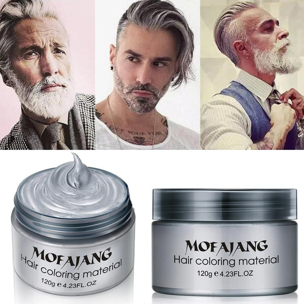 good wax for hair styling the silver fox hair wax times 2776 | Hair Styling Pomade Silver Ash Grandma Grey Temporary Disposable Fashion Hair Wax Molding Dye Coloring Mud grande