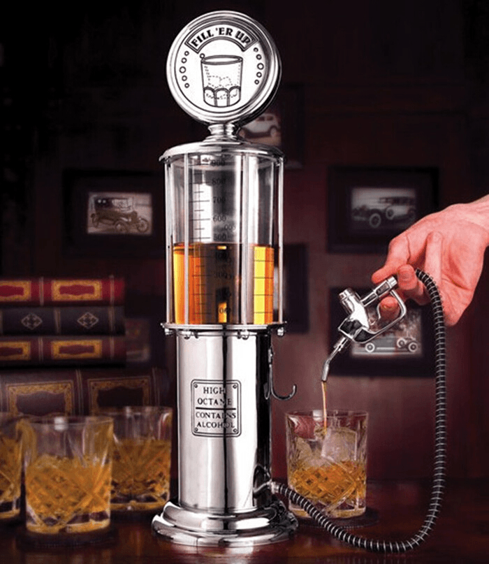 1930s Vintage Gas Pump Drink Dispenser