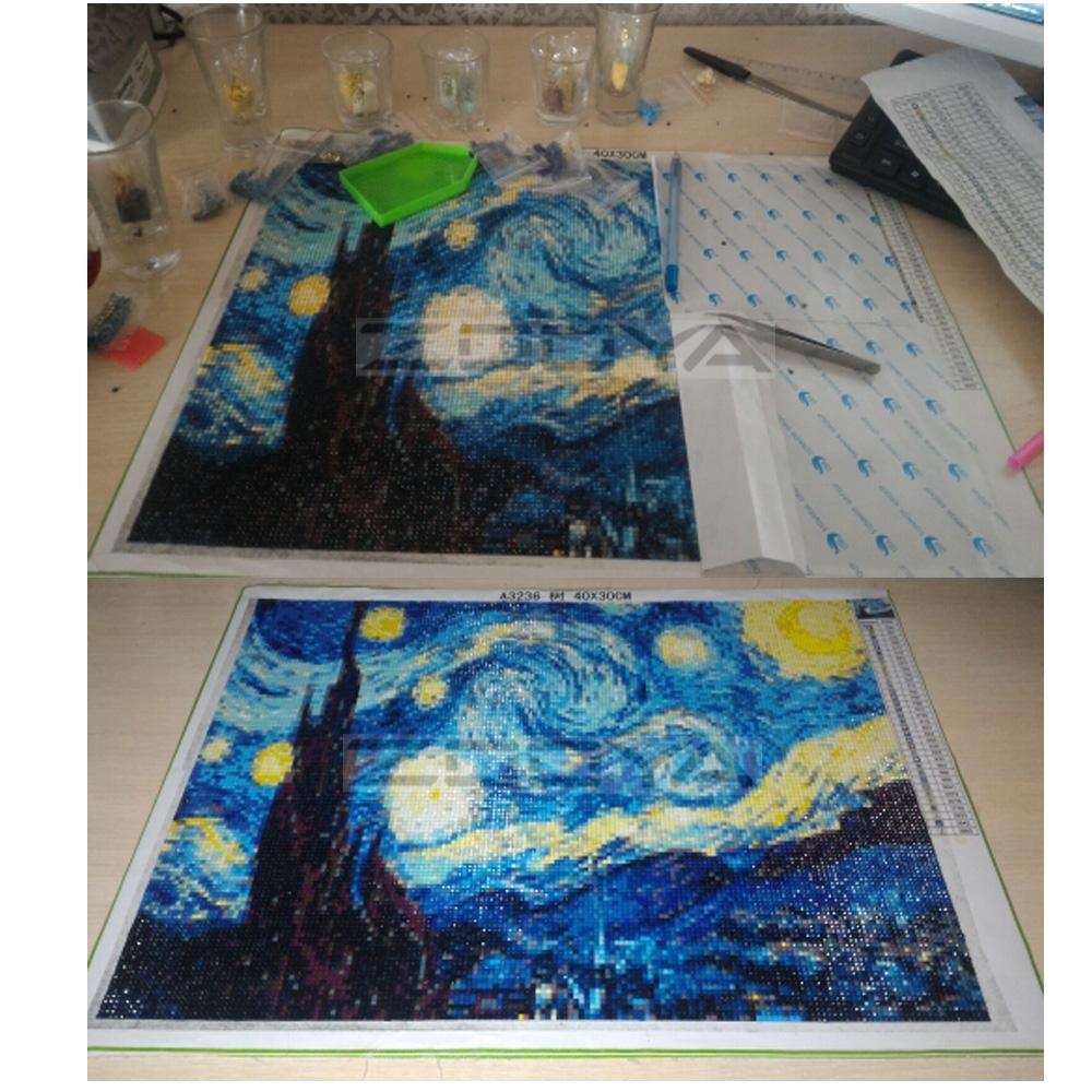 Starry Sky - Dream Diamond Painting Kitp<p><b>50% OFF TODAY ONLY</b>