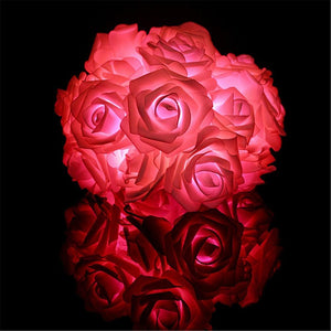 LED Rose Lights Décor