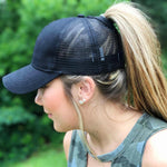 Ponytail Baseball Cap<p><b>50% OFF TODAY ONLY</b>