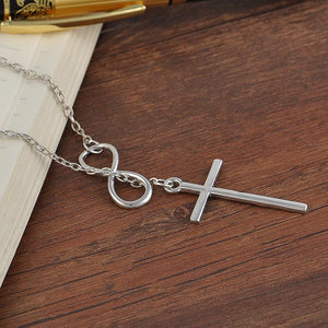 Infinite Faith for Christ Cross Necklace