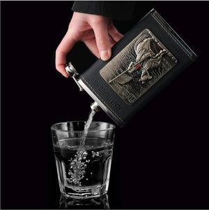 The Death Knight Premium Hip Flask (10ounce)