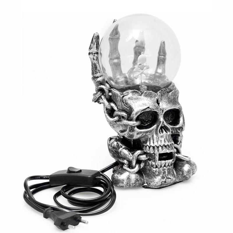 Antimatter™ Retro Skull Plasma Ball