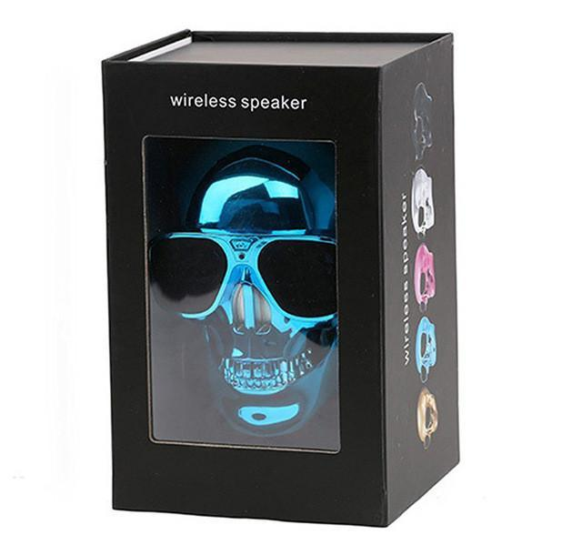 bad to the bone skull wireless bluetooth speaker good. Black Bedroom Furniture Sets. Home Design Ideas