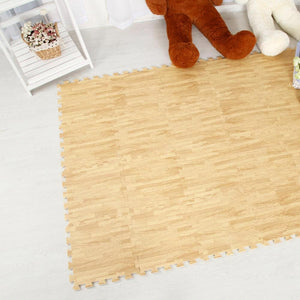 Wood Tile Soft Mat - Set of 9<p><b>50% OFF TODAY ONLY</b>