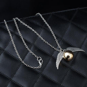 Quidditch Snitch Necklace<p><b>50% OFF TODAY ONLY</b>