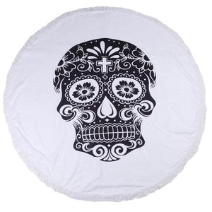 Skull Beach Towels