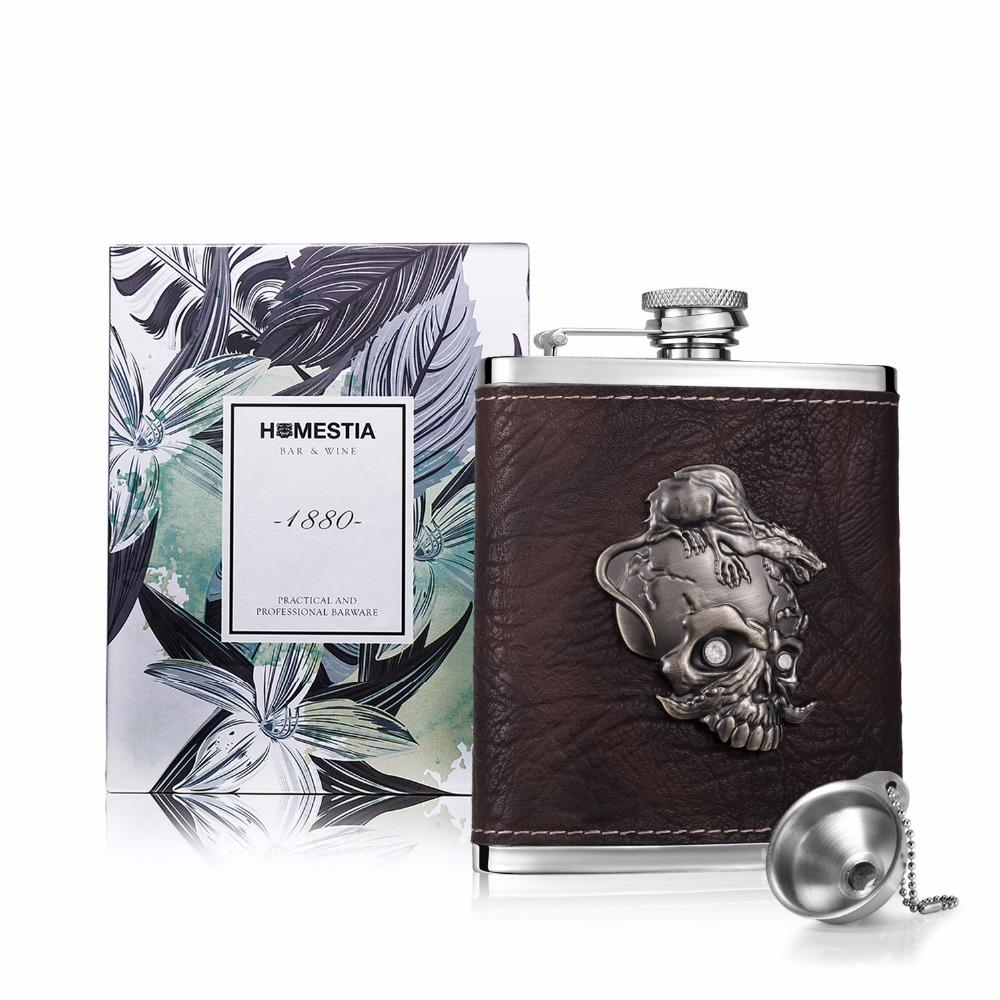 The Honest Hell Skull™ Stainless Steel Flask