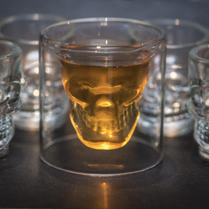 Skull Whiskey Glass [Buy 1 Get 1 Free]
