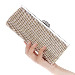 Fancy Silver Clutch | Fashionmistyle