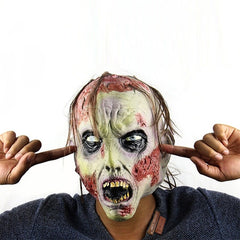 Cool New Play Latex Realistic Crazy Rubber Creepy Party Mask