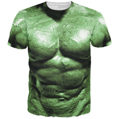 Incredible Hulk Spirit 3-D Print Fashion Clothing Outfits - Fashion mi style