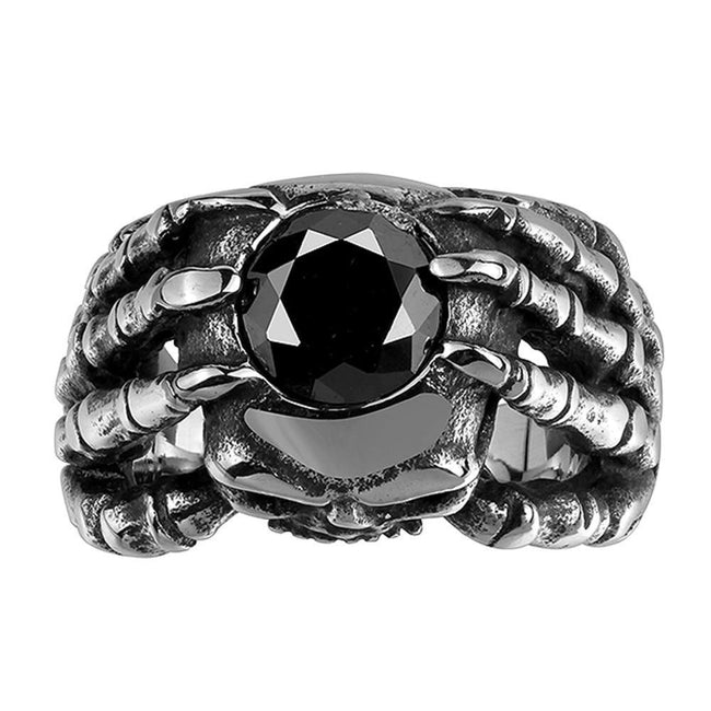 Classic Retro Evil Ring for Party  (Stainless Steel) - Fashion mi style