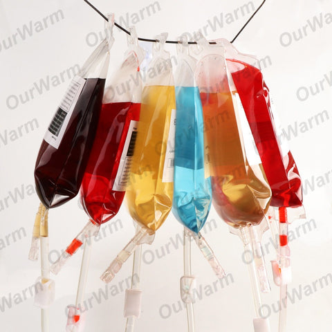 OurWarm 10PCS Pouch Vampires Reusable Bags Blood Juice Drink
