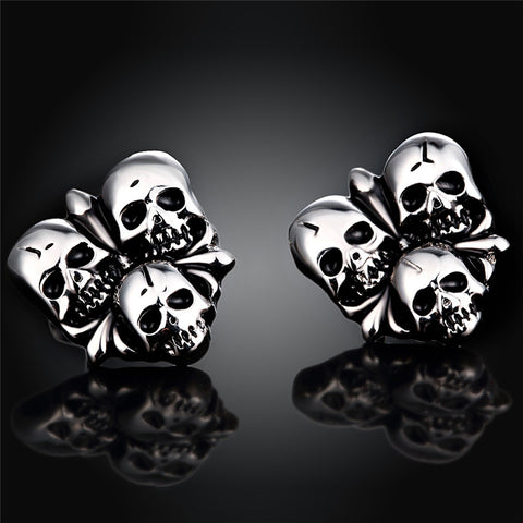 Stainless Steel Charm house Halloween Earrings for Women