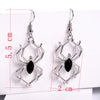 Image of Creative Spider Charm Dangle Pendant Earrings for Women Fashion Alloy Hooks Party Drop Earring - Fashion mi style