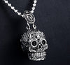 Image of COOl NEW SKULL CROSS PENDANT NECKLACE FOR WOMEN - Fashion mi style