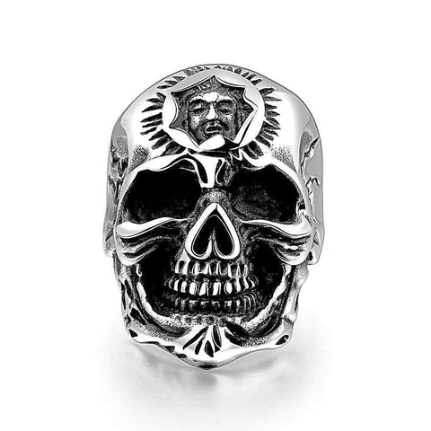 New Top Quality Party Jewelry Skull Men Fashion Ring