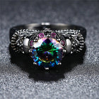 Fashion Jewelry crystal Wedding Engagement Valentine's Day Halloween Gift - Fashion mi style