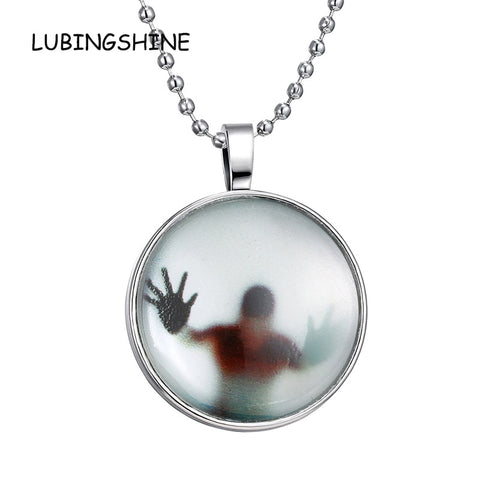 Fashion Punk Unisex Women Men Luminous Halloween Necklace Shine In The Dark Pendant - Fashion mi style