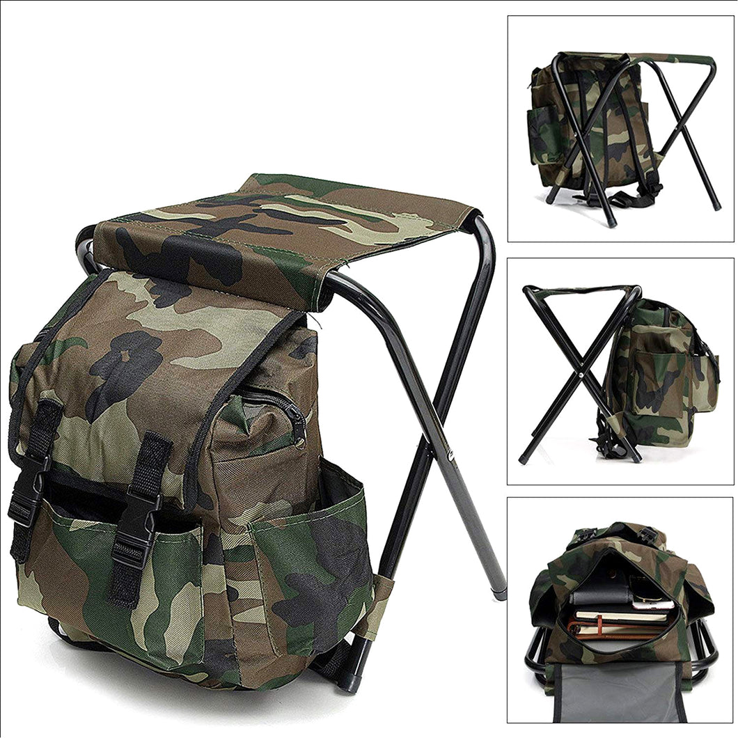 The Fisherman™️ - Outdoor Backpack Chair