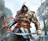 Edward Kenway Assassin Hidden Blade