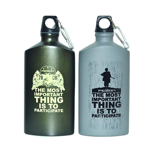 Military Aluminum Flask