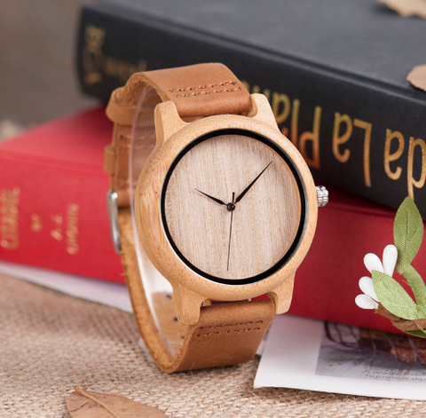 Alex Bamboo Wooden Wristwatches