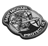 Saint ST.Michael Badge
