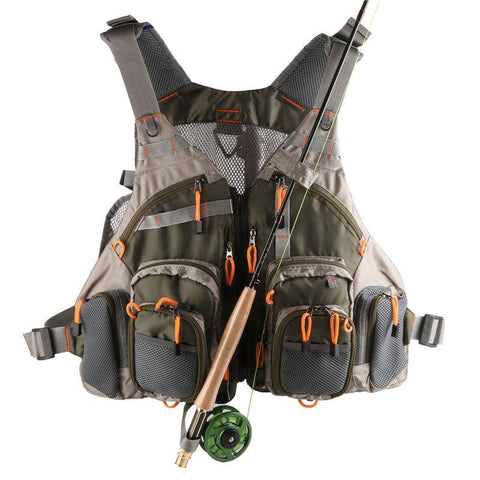 Fly Fishing Mesh Vest