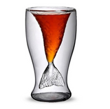 Fish Tail Vodka Glass