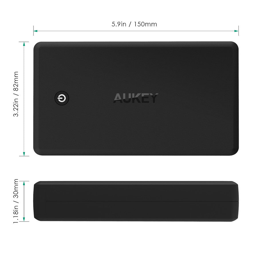 AUKEY The Reactor 30000mAh Power Bank - sunburysupplyco