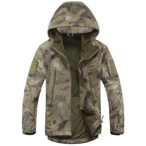 The Sharkers - Waterproof Military Tactical Jacket and Pants for Hunting