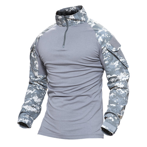 a1ada3b96907d MAGCOMSEN Man Multicam T-shirts Army Camouflage Combat Tactical T Shirt Military  Men Long Sleeve