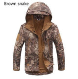 High quality Lurker Shark skin Soft Shell TAD V 5.0 Military Tactical Jacket Waterproof Windproof Army bomber jacket Clothing