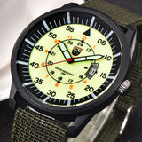 2017 Fashion Mens Watches Military Casual Quartz Army Watches Nylon Band Dial Date Sport  Stainless steel Case Wrist Watch