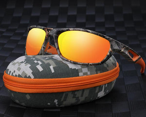 Viva Del Sol | Limited Edition TR 90 Polarized UV 400 Tactical Sunglasses