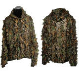 Woodland Leaf Camouflage Suit