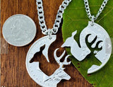 Vintage Deer Necklace Set
