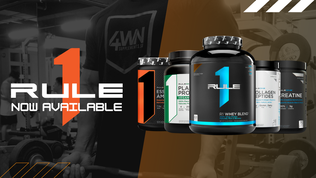 A New Brand has arrived at 4WN Supplements