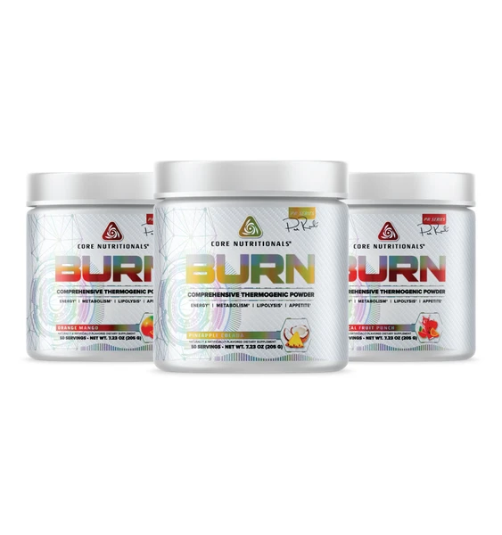 Burn Platinum now in stock