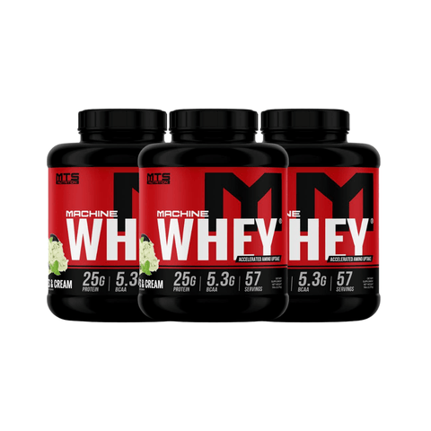 3 x MTS Nutrition Machine Whey