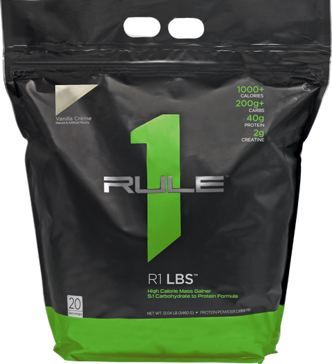 Rule 1 LBS 20 Serves (Mass Gainer)