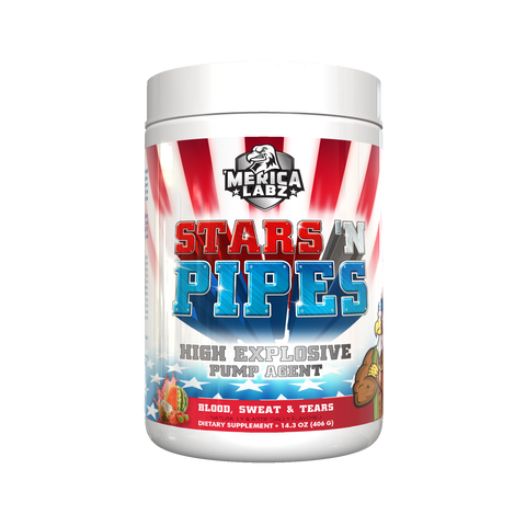 Merica labz stars and pipes pump formula
