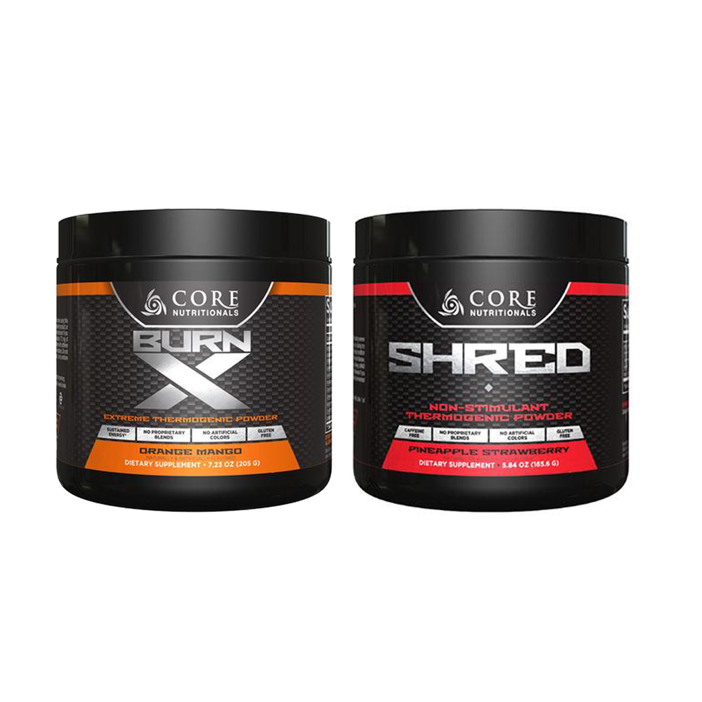 Core Burn X + Shred Stack